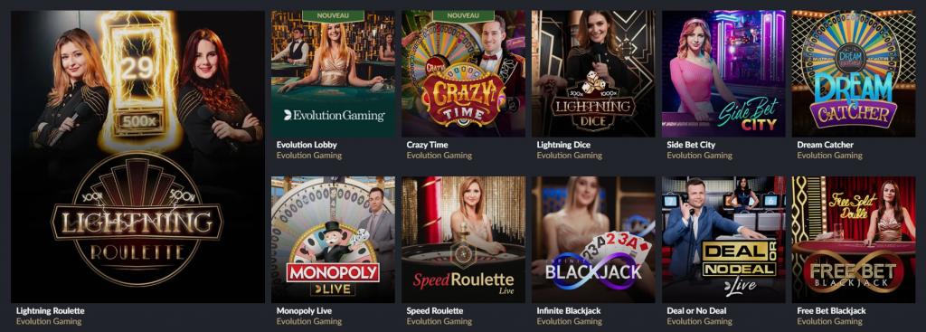 jeux live tortuga casino