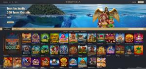 screenshot site tortugacasino.com